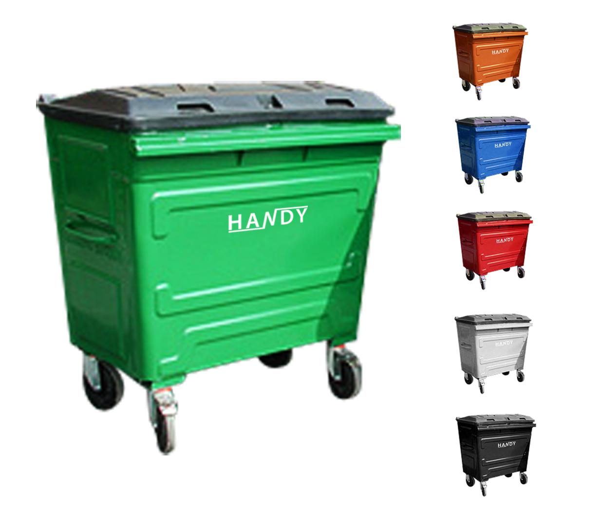Thùng đựng rác thải công nghiệp 660L