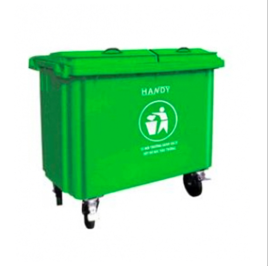 Thùng phân loại rác sinh hoạt trong bệnh viện