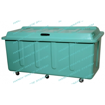 Thùng rác công nghiệp 1300L hiệu HANDY