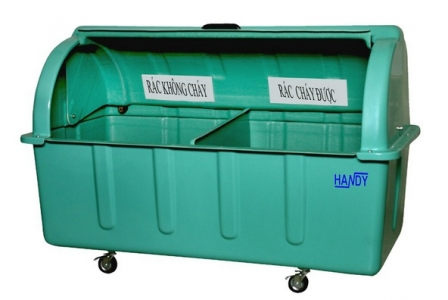 Thùng rác công nghiệp 1600 lít