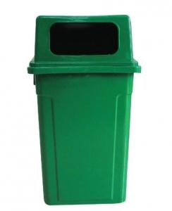 Thùng rác cố định 90L bằng nhựa HDPE