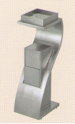Thùng rác inox GPX78B
