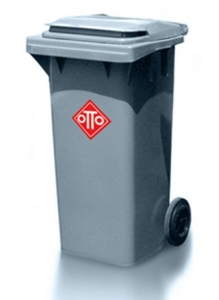 Thùng rác nhựa HDPE OTTO 120 lít