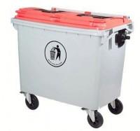 Thùng rác nhựa SULE 1100 lít