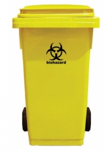 Thùng rác y tế (bệnh viện) có bánh xe BIOPAC MGB240