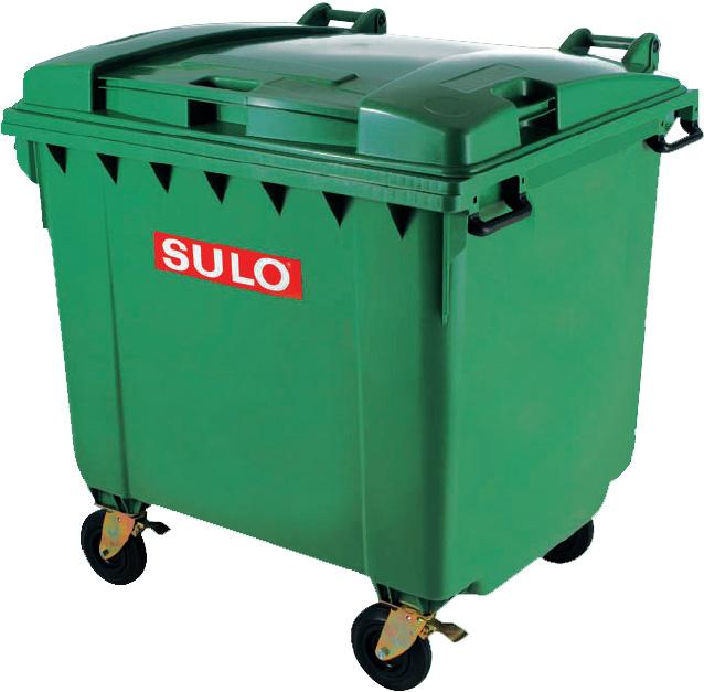 Thùng rác 660L SULO