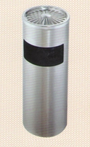 Thùng rác Inox có gạt tàn GPX30