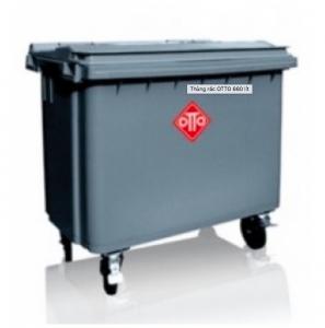 Thùng rác OTTO 660 lít