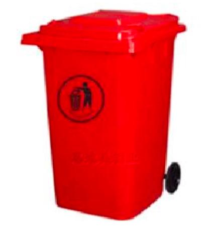 Thùng rác SINO 360L màu đỏ