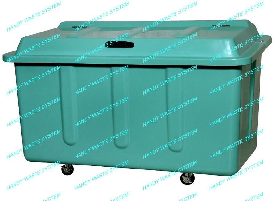 Thùng rác công nghiệp phân loại rác 1000L
