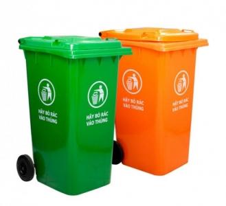 Thùng rác nhựa Hiệp Thành 240L