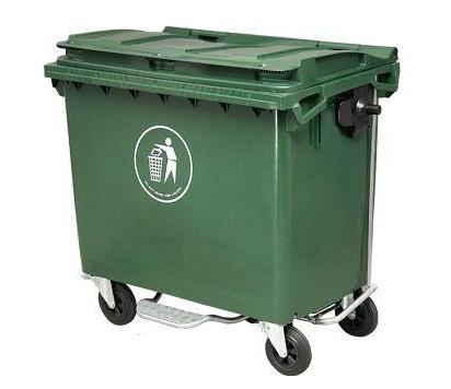 Thùng rác nhựa SULE 660 có đạp chân