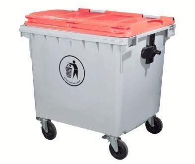 Thùng rác nhựa SULE 660 lít