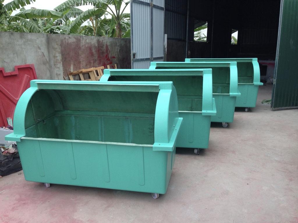 Thùng rác công nghiệp Handy chế tạo theo tiêu chuẩn Nhật Bản