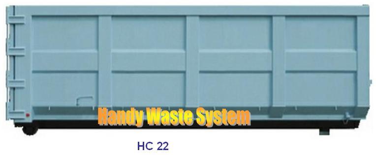 Container chứa rác công nghiệp 25m3
