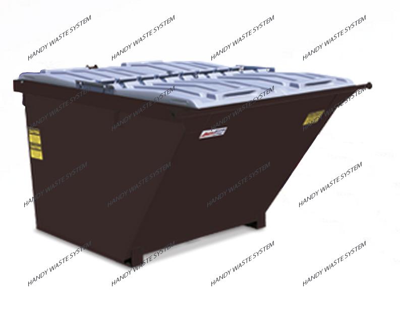 Container chứa rác thải công nghiệp 4 yard