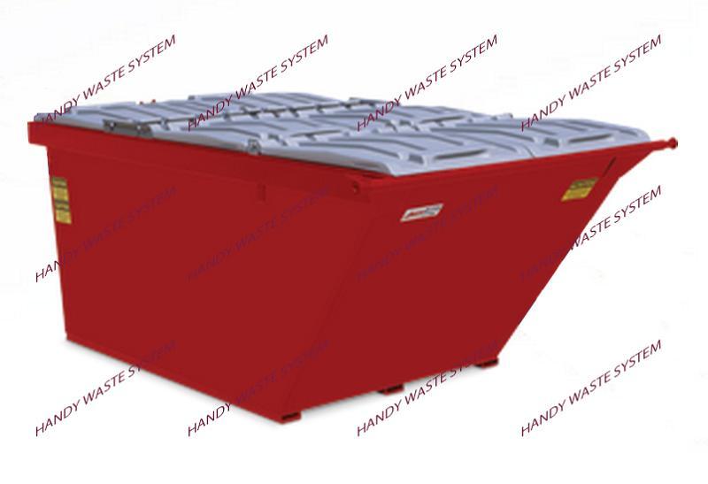 Container chứa xà bần dung tích 6 yard khối