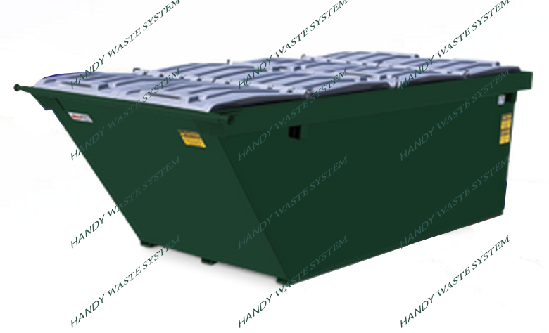 Container chứa bùn thải 8 Yard