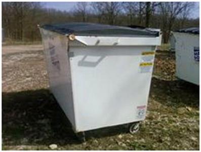 Container thu rác 2 Yard