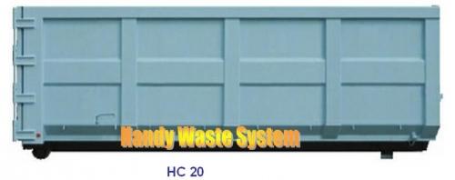 Thùng Container xe hooklift chứa rác thải công nghiệp