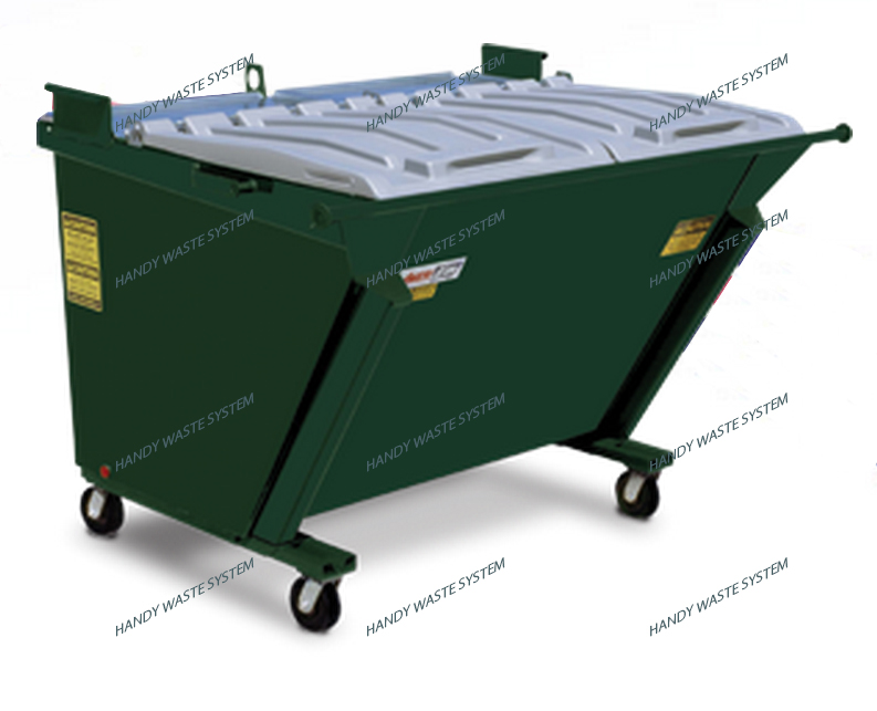 Thùng chứa rác thải xây dựng dung tích 2 Yard khối