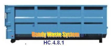 Thùng container chứa chất thải công nghiệp tải trọng 4 tấn