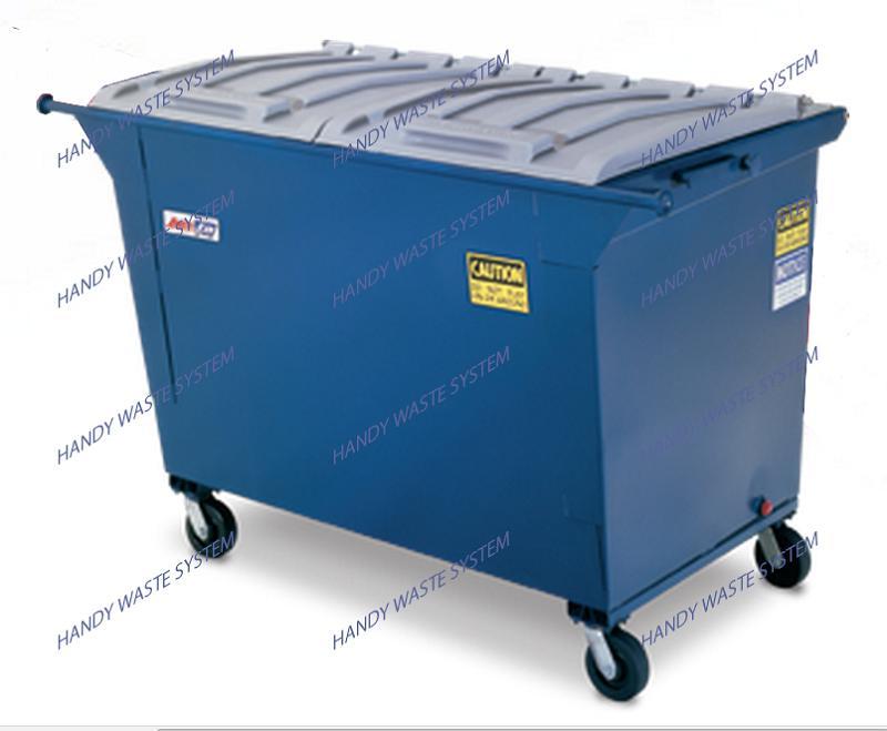 Thùng rác công nghiệp 2 yard khối (1500 lít)