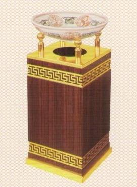 Thùng rác gỗ có gạt tàn GPX-83B