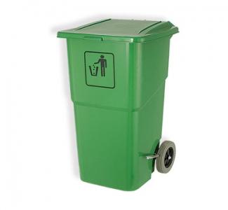 Thùng rác sinh hoạt bánh xe di chuyển giảm tiếng ồn