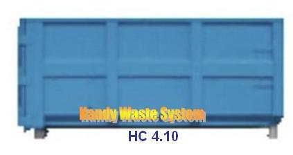 Thùng Container rác thải công nghiệp 10m3