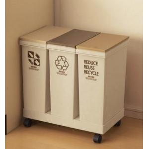 Thùng phân loại rác trong nhà bếp có bánh xe