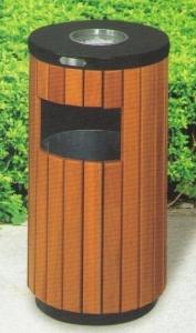 Thùng rác gỗ tròn GPX-57