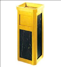 Thùng rác mặt đá mạ vàng SINO 8164