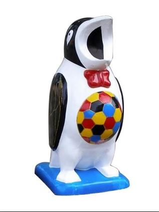 Thùng rác composite chim cánh cụt