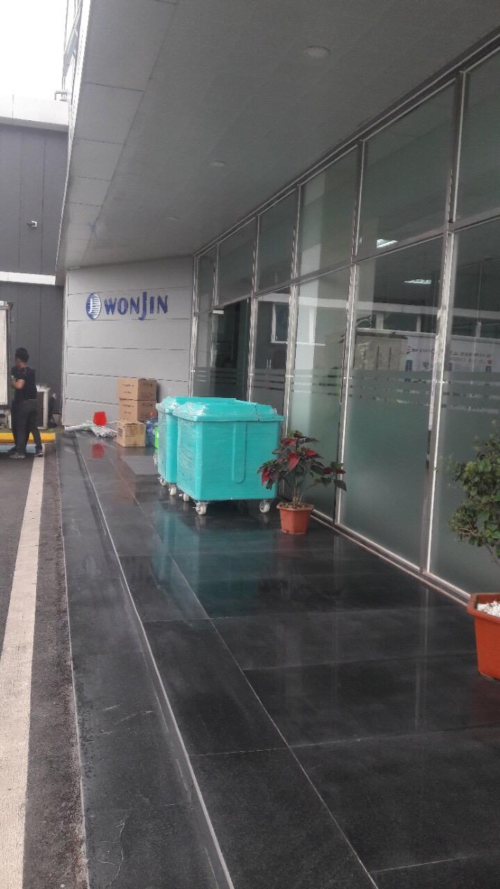 Giao thùng rác công nghiệp tại Bắc Ninh