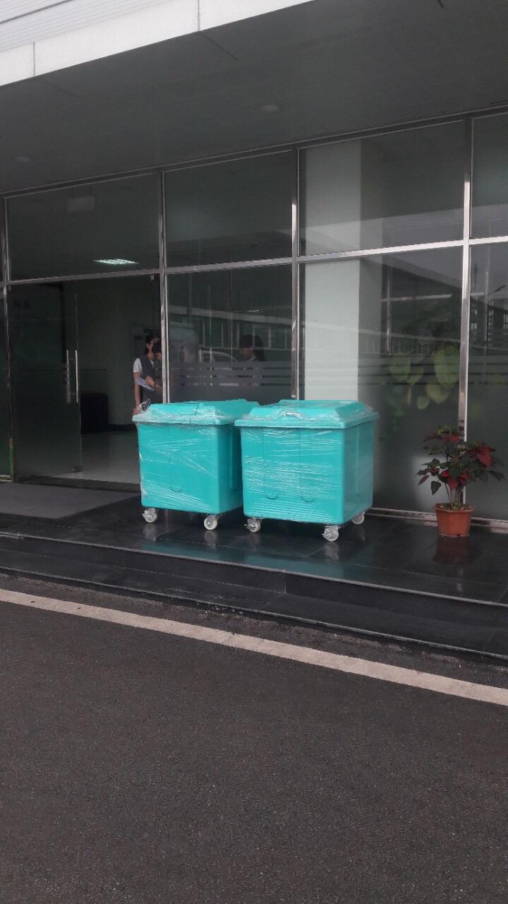 Thùng rác tiêu chuẩn Nhật Bản