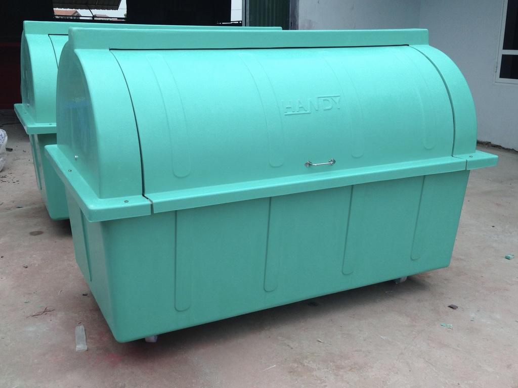 Thùng rác công nghiệp chế tạo theo tiêu chuẩn JIS Nhật Bản