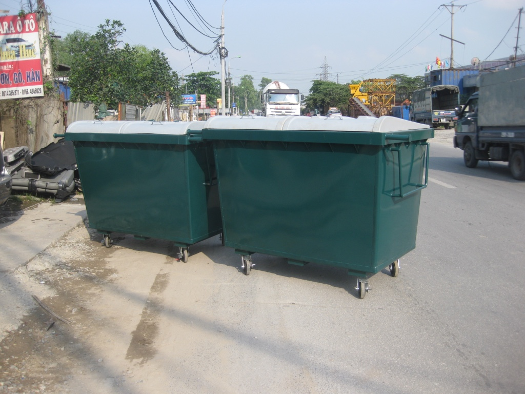 Thùng rác chế tạo theo tiêu chuẩn ANSI Hoa Kỳ